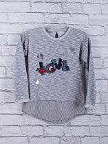 Свитер Little Star S33 grey
